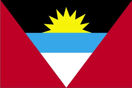 Country Flags: Antigua and Barbuda Flag