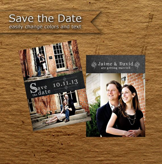 Best Save The Date Templates Images On   Wedding