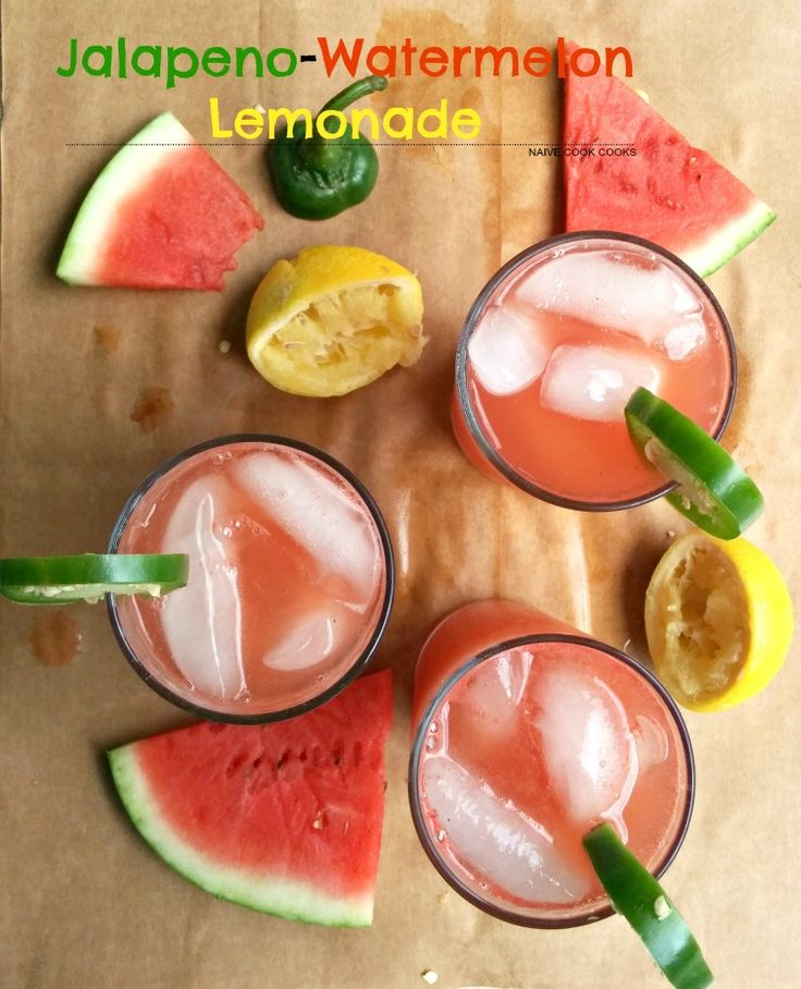 Refreshing with a little kick, this Jalapeno Watermelon Lemonade is the perfect summer lemonade!
