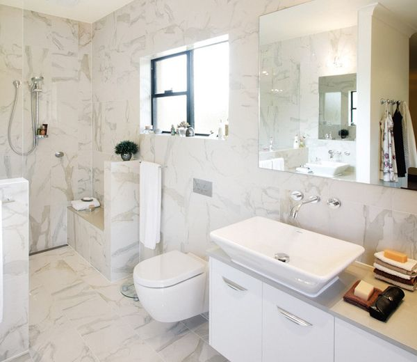 Find This Pin And More On White Marble Bathroom