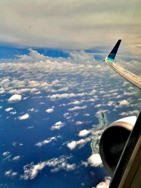 never have thought that Indonesia completely amazing beautifull specially form sky!
