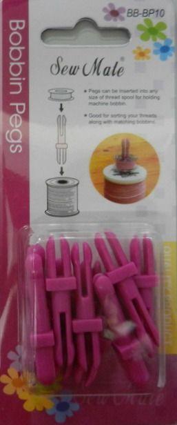 Spolhållare,trådmatchare och nåldynor | Bibbis Textil
