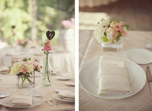 How To Plan A Simple Wedding On A Budget #wedding #centerpieces #flowers #chic #dinner