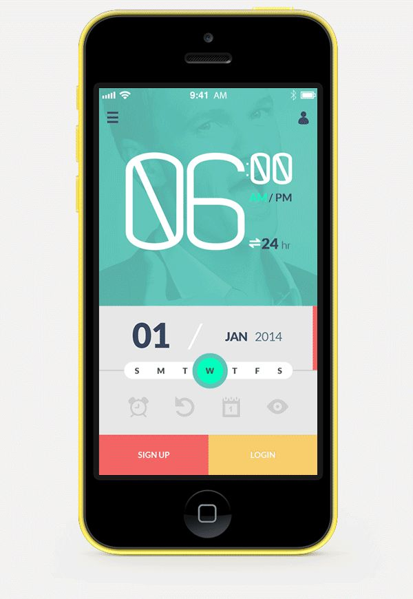 The Buddy Clock on App Design Served