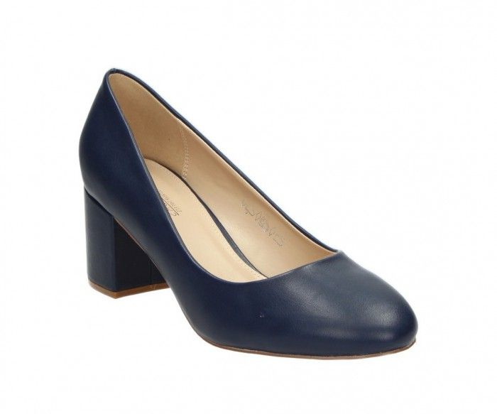 Damenschuhe Pumps Sesy in dunkelblau PU | FITTERS FOOTWEAR