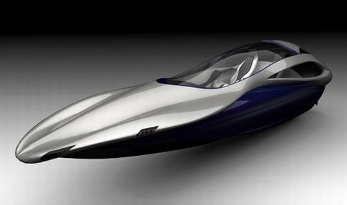 Vivace 26 Luxury Speedboat Concept by Garret Miller, Heather Witkop, David Robinson, Matt Wysenski and Julian Romero