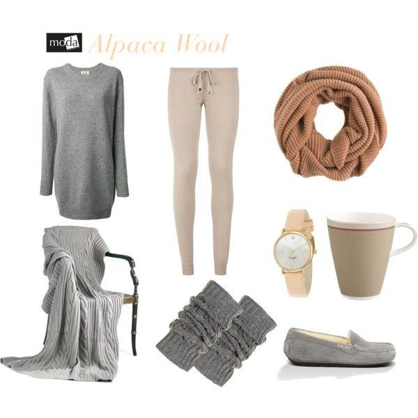 """""""Alpaca Wool"""" by modadasha on Polyvore"""