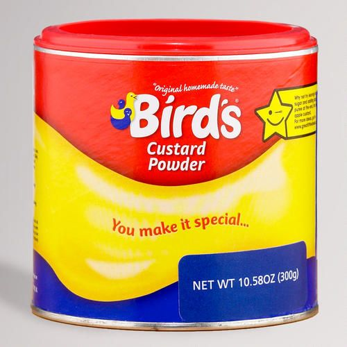 One of my favorite discoveries at WorldMarket.com: Bird's Custard Powder (recommended by Nigella Lawson)