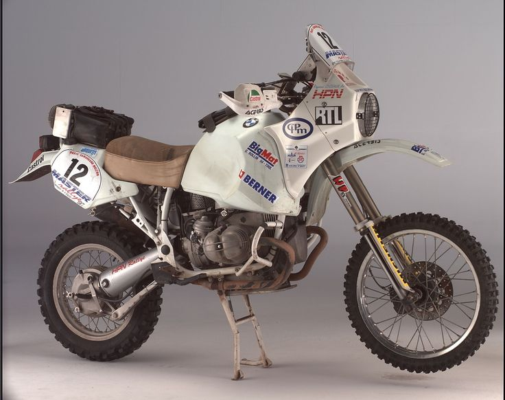 BMW Boxer Paris dakar