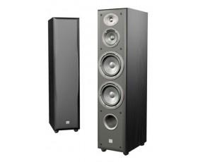 JBL Northridge E80 3-Way Dual 6-Inch Floorstanding Speaker, Single (Black Ash)
