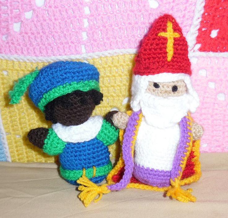 Sint en Piet Amigurumi
