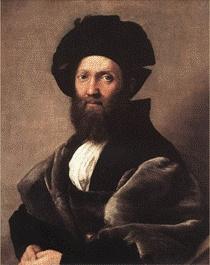 라파엘로의'Baldassare Castiglione'초상화르네상스는 단순히 문화적인 부흥운동을 펼친 것이 아니라 인간들의 지적, 창조적 힘을 다시 부흥시키는 역할을 하기도 하였다. 그 중심에는 미켈란젤로와 라파엘로도 있었을 것이다.    아래 작품의 주인공은 '궁정인'의 저자인데, 당시의 궁정은 정치의 중심지일 뿐만 아니라 문학과 예술의 중심이었다 한다. 책과 그림. 다른 분야일 수도 있지만 라파엘로 또한 초상화를 통해서 그의 생각에 동의하고 사람들에게 이 생각들을 전파하고 싶었는지도 모르겠다.