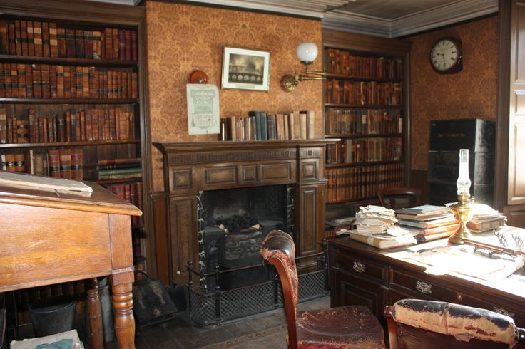 The solicitor's office in Beamish's 1900s Town, County Durham, UK