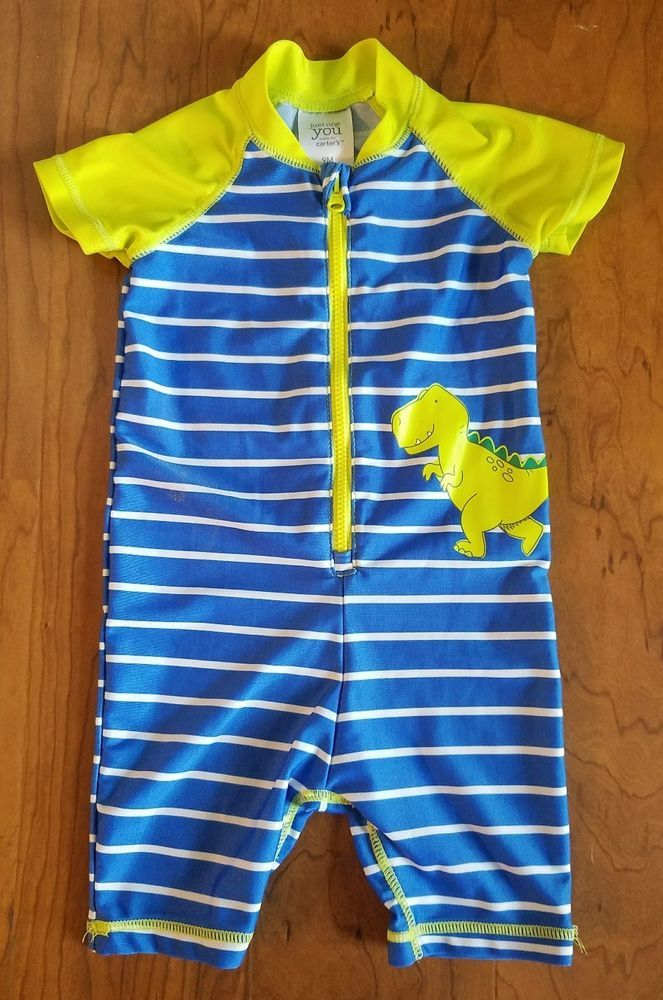 Just One You by Carters Baby Boys Size 9 Months Full Body Rash Guard Blue Green | Clothing, Shoes & Accessories, Baby & Toddler Clothing, Boys' Clothing (Newborn-5T) | eBay!