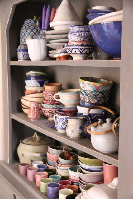 bowls, cups & teapots