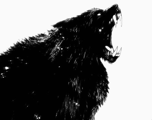 """Many predatory therian have a half-form, much like the """"wolf man"""" of legend.  Only powerful therian - alphas, queens, and kings - possess this form. www.aelowan.com"""