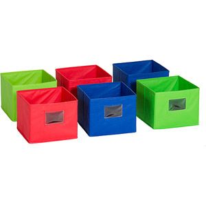 guidecraft fabric bins set of 6 - Diy Entfernbarer Backsplash