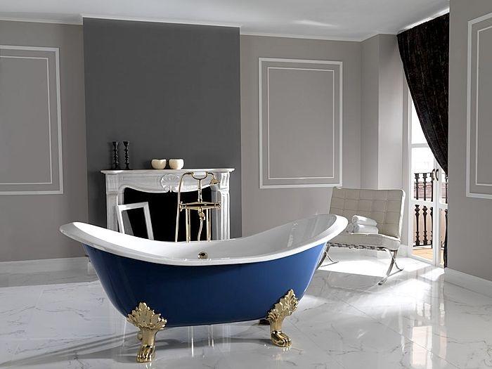 bañera de hierro fundido decoración baños cast iron bathtub bathroom decoration miraquechulo