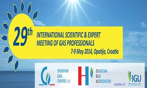 International Scientific & Expert Meeting of #Gas Professionals 2014 - Annual Gas Conference and Exhibition in #Opatija will from 7th till 9th of May 2014
