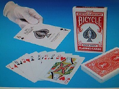 Bicycle Deck Jumbo Red Rider Back 8082 Collectibles:Fantasy, Mythical & Magic:Magic:Tricks www.webrummage.com $29.99