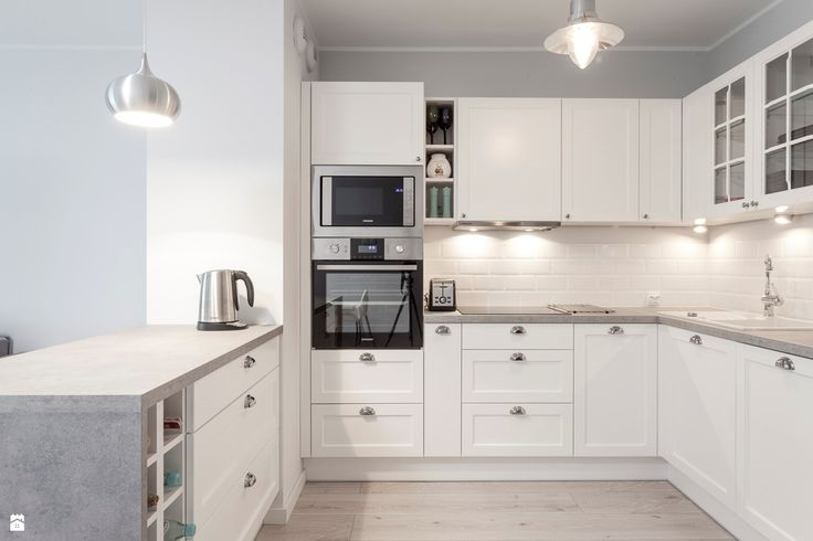 Kuchnia styl Skandynawski - zdjęcie od PRACOWNIE WNĘTRZ KODO