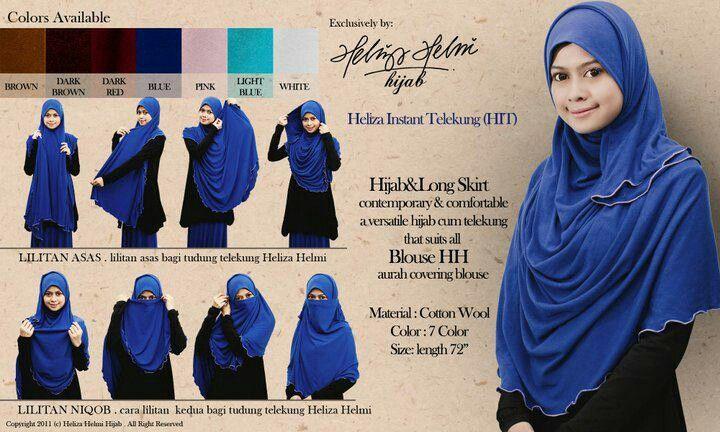Tutorial prayer hijab & niqob
