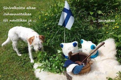 by itu: Hyvää Juhannusta 2017 - Sinivalkoinen teema jatkuu...