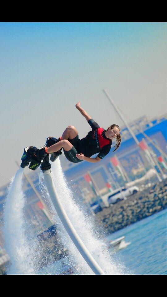 Pro Rider Lize Kooij at Worldcup Dubai 2014: