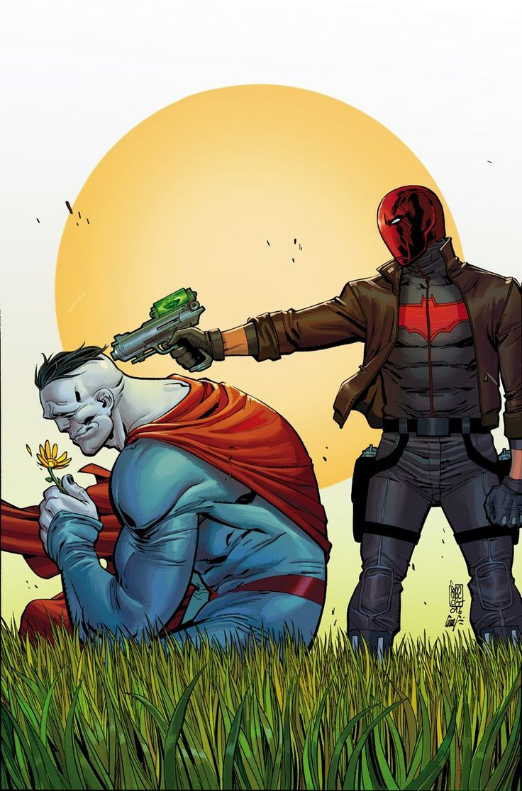RED HOOD AND THE OUTLAWS #7 Written by SCOTT LOBDELL • Art by guest artist MIRKO CLARK • Cover by GIUSEPPE CAMUNCOLI and CAM SMITH • Variant cover by MATTEO SCALERA