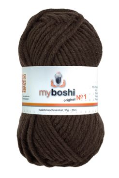 myboshi No.1 174 kakao 70% Polyacryl und 30% Schurwolle (Merino) 3,75 €