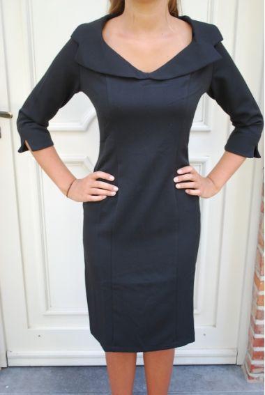 Kleding :: Pencil dresses :: Black dress - Hulahup