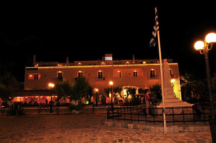 Portiani hotel by night!