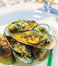 Limegratinerade musslor i skal - Icakuriren