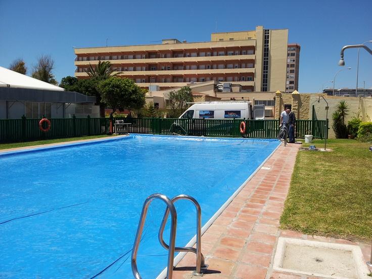 Benchmount toptrack para piscina de 9x20 metros