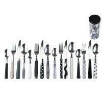 Cutlery Set Mix & Match Black & White