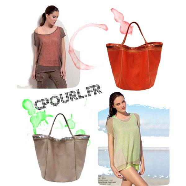 été 2015 teen set fluo by cpourl-chantal on Polyvore featuring mode