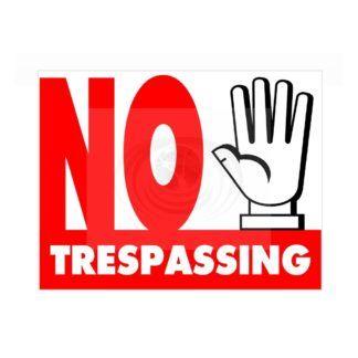 photo regarding Printable No Trespassing Signs identify No Tresping Indicator Ambitious Purple Printable Indicators No