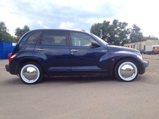 Crysler PT Cruiser dark blue