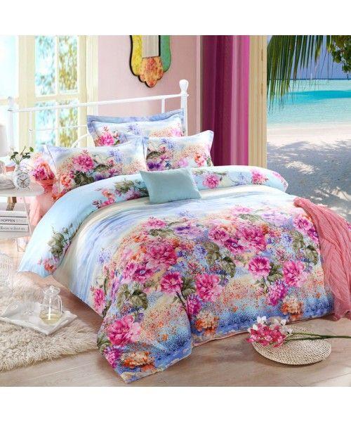 Luxury Egyptian Cotton Sateen Bed Set [HBS-05-00169]