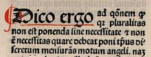Occam's razor (also written as Ockham's razor from William of Ockham (c. 1287 – 1347), and in Latin lex parsimoniae) is a principle of parsimony, economy, or succinctness used in problem-solving. It states that among competing hypotheses, the hypothesis with the fewest assumptions should be selected.