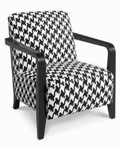 bar iii houndstooth | Houndstooth Chair, Accent