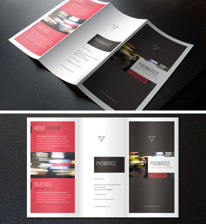 Brochures Templates Word Free Trifold Brochure Templates Senior - Psd brochure template