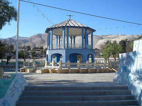 plaza Chuquicamata, foto césar morales (chatohumilde)