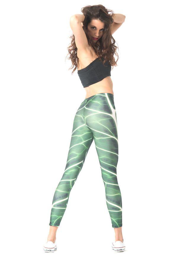 Leggings für Dein bequemes Outfit, Sportleggins, Sporthose, Yogahose, Fitnesshose / leggins for a casual outfit, fitness leggins, sport pants, yoga pants made by Straight-Banana via DaWanda.com