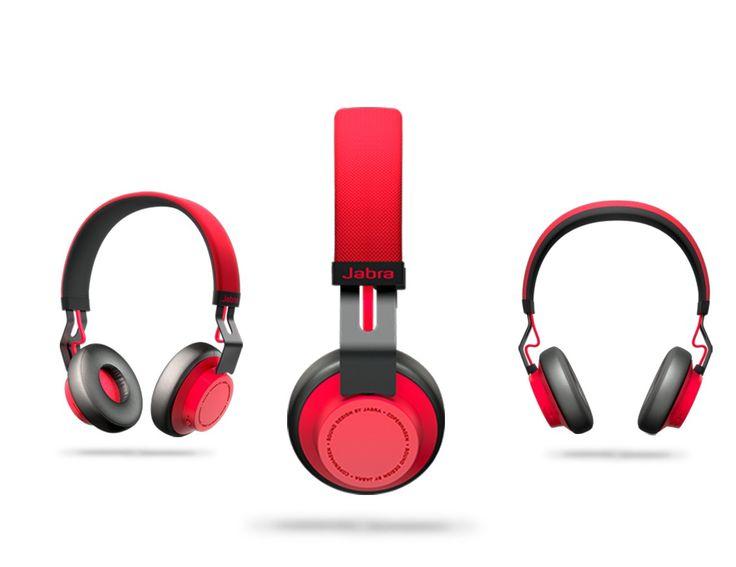 Jabra Move Wireless Bluetooth Headset (Red)  Buy here: http://www.myitkart.com/jabra-move-wireless-bluetooth-headset-red.html