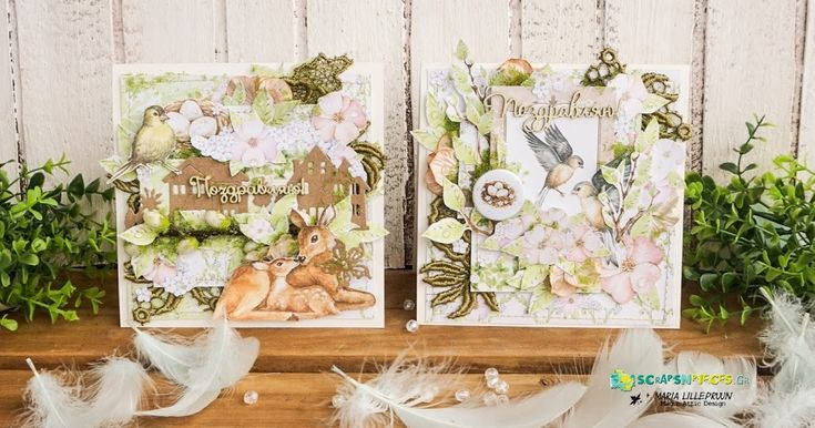 Spring cards by Maria Lillepruun