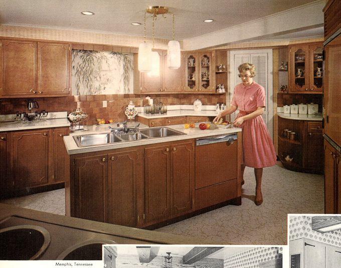 Image Gallery 1960s Kitchen