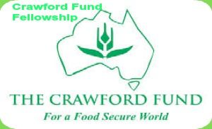 2014 Crawford Fund Fellowship for Developing Countries Students in Australia, and applications are submitted till 30th June 2014. Crawford Fund awards fellowship for developing countries. This fellowship is awarded up to three months to scientist for further training in an aspect of agricultural research or resource development at an Australian agricultural institution. - See more at: http://www.scholarshipsbar.com/2014-crawford-fund-fellowship.html#sthash.dRDCt3FG.dpuf
