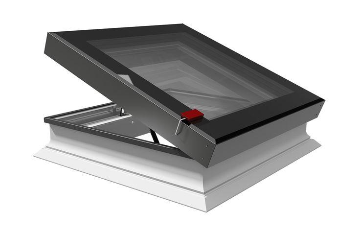 Nowoczesne rozwiązanie dla nowoczesnego projektu. Prezentujemy PGC A1 – okno uchylne do dachów płaskich.