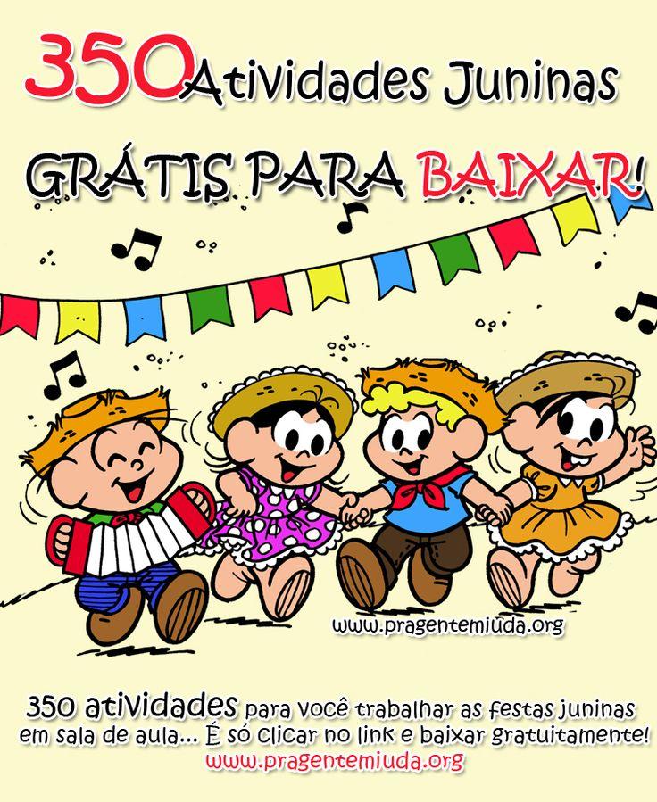 Atividades para maternal, creche e berçário: atividades para festa junina